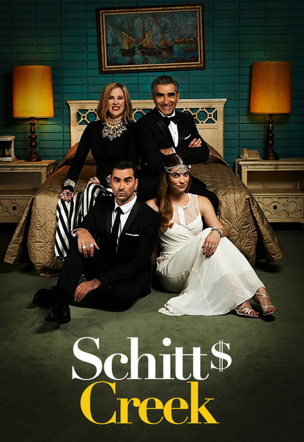 Schitt's Creek Season 3 poster