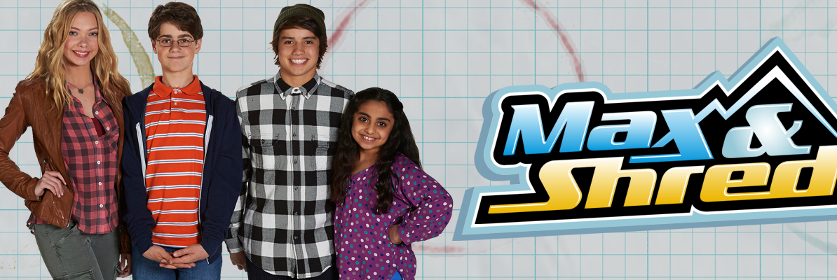 Max & Shred poster