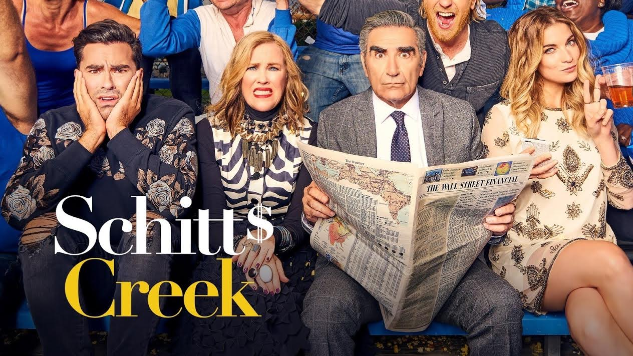 Schitt's Creek Season 4 poster