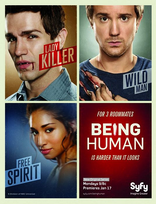 Assistir Being Human US Online Legendado e Dublado