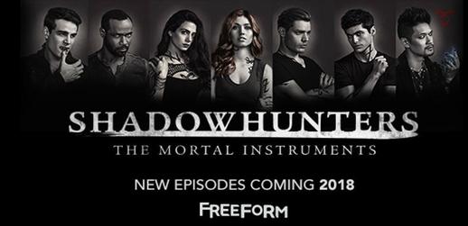 Shadowhunters poster